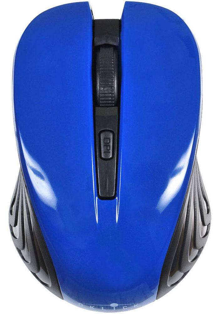 Игровая мышь Oklick 545MW, Black Blue