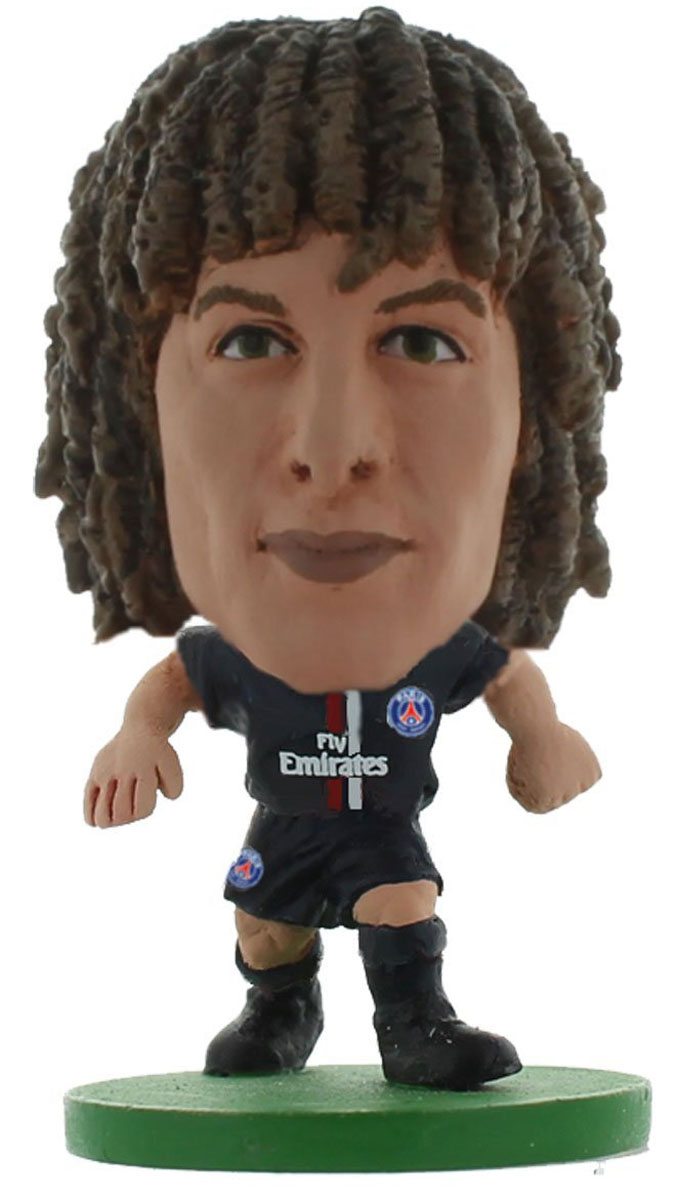 Soccerstarz Фигурка футболиста FC Paris Saint-Germain David Luiz original bandai tamashii nations saint cloth myth ex action figure scorpio milo original color edition from saint seiya