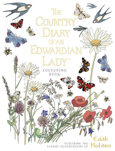 The Country Diary of an Edwardian Lady Colouring Book kew a year in the garden colouring book