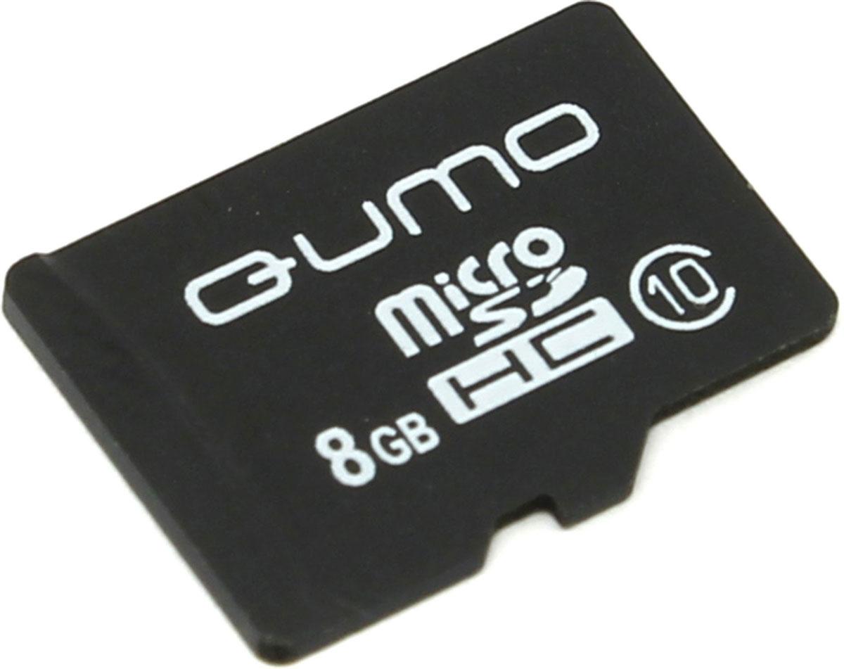 QUMO microSDHC Class 10 8GB карта памяти