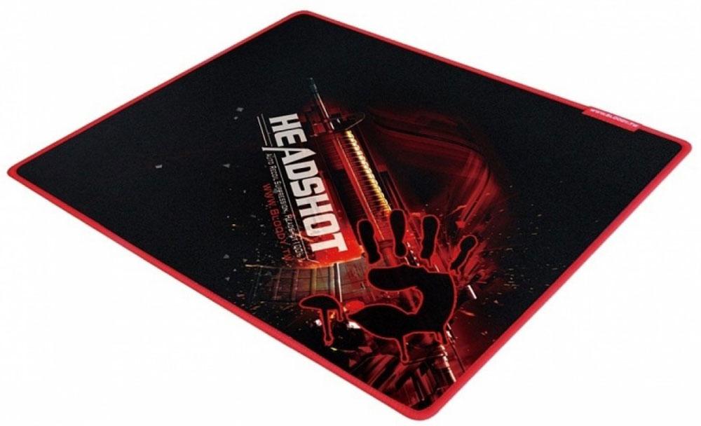 Игровой коврик для мыши A4Tech Bloody B-070, Black Red