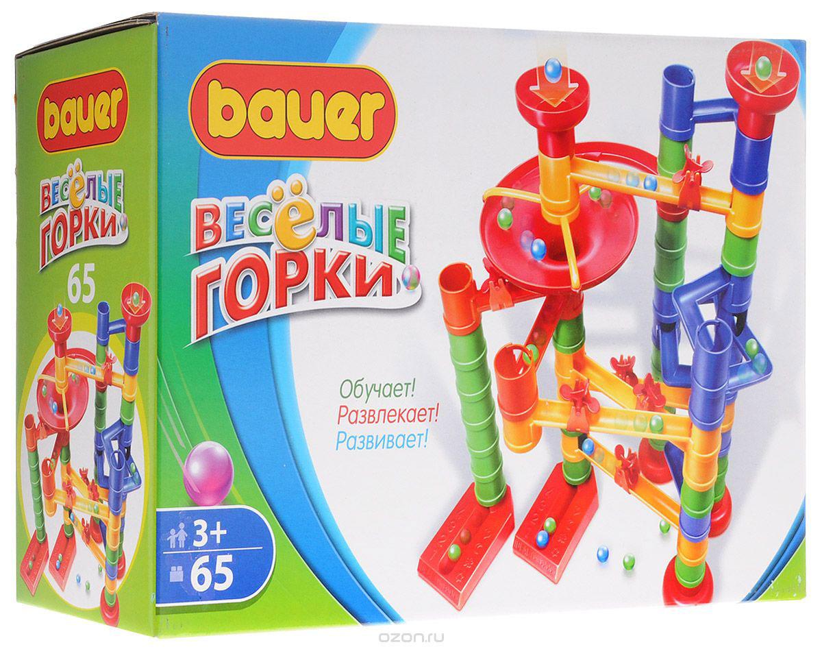 Bauer Конструктор Веселые горки bauer bauer конструктор avia 200 элементов