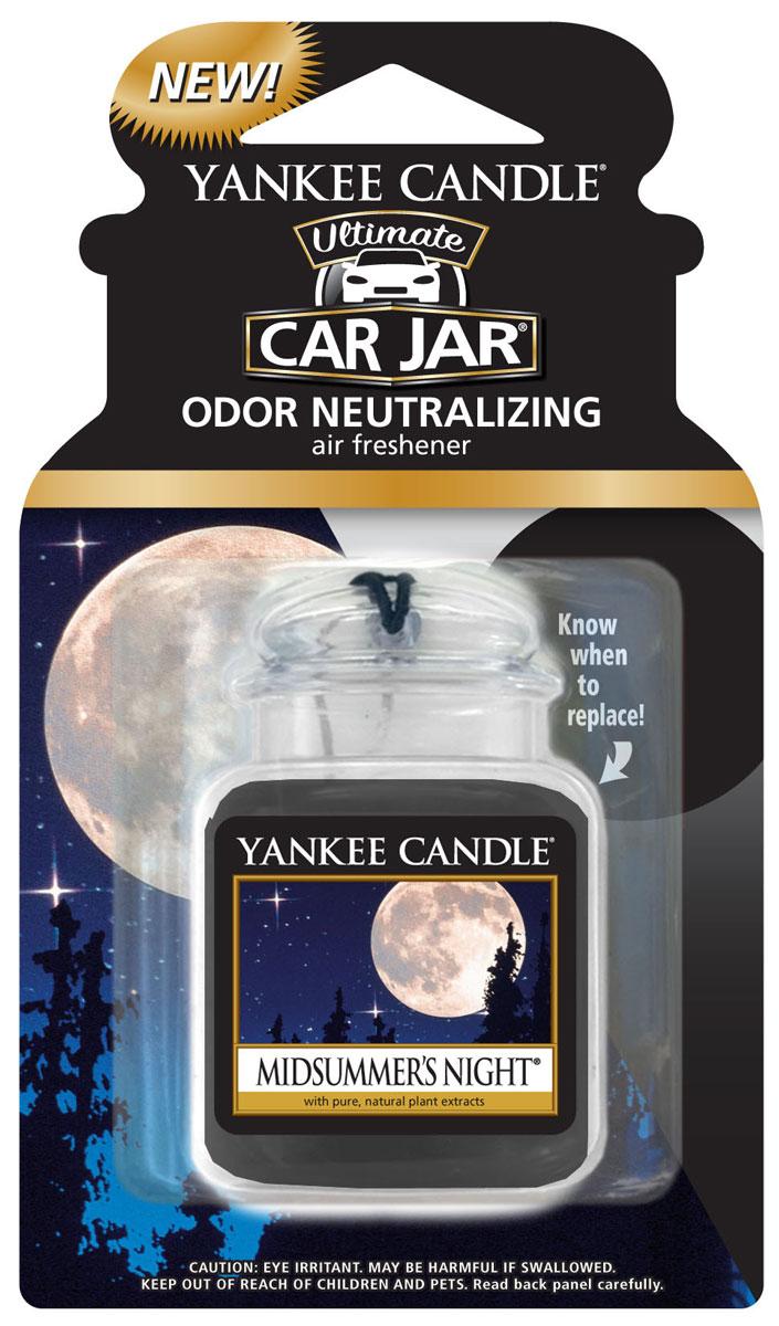 Ароматизатор автомобильный Yankee Candle Летняя ночь, гелевый ароматизатор гелевый