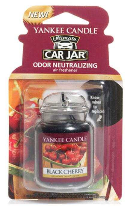 Ароматизатор автомобильный Yankee Candle Черная черешня, гелевый ароматизатор гелевый