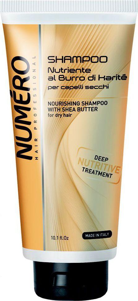 Brelil Numero Shea Butter Шампунь с маслом карите для сухих волос 300 мл