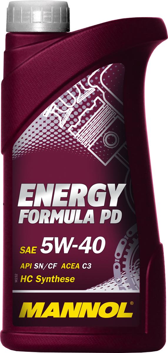 "Масло моторное MANNOL ""Energy Formula PD"", 5W-40, синтетическое, 1 л"