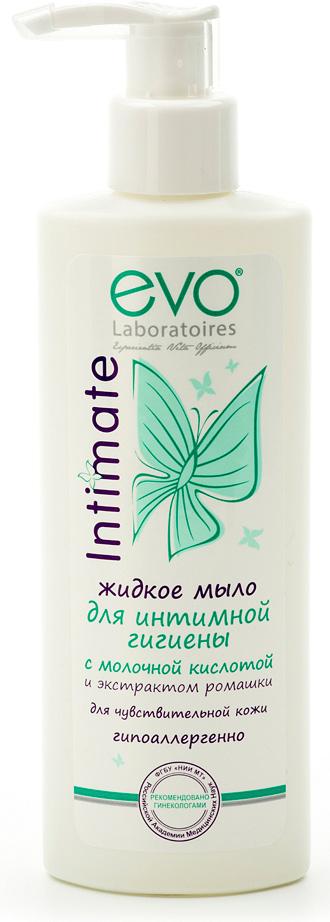 Evo Жидкое мыло для интимной гигиены для чувствительной кожи, 200 мл