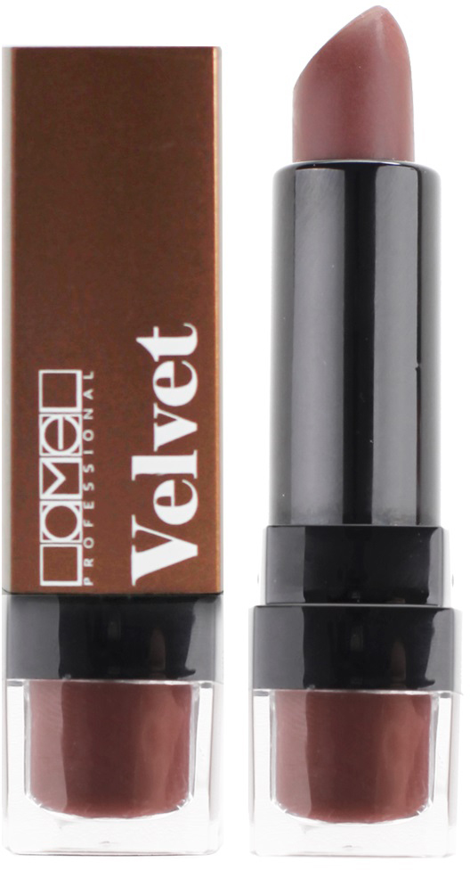 Lamel Professional Помада для губ Velvet матовая 01, 4 г lamel professional стойкий матовый блеск для губ velvet cream 06 8 г