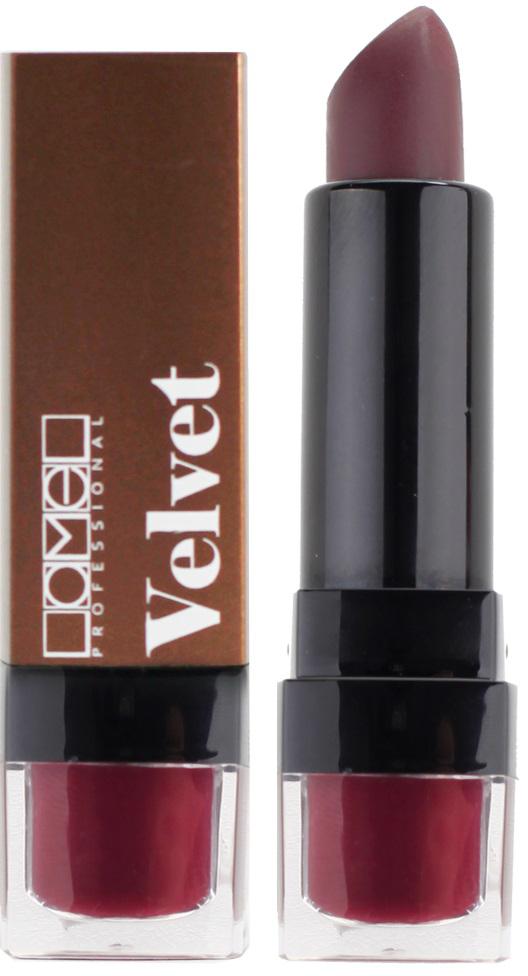 Lamel Professional Помада для губ Velvet матовая 02, 4 г lamel professional стойкий матовый блеск для губ velvet cream 06 8 г
