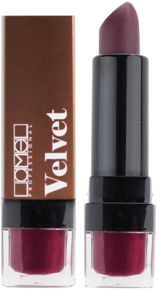 Lamel Professional Помада для губ Velvet матовая 05, 4 г