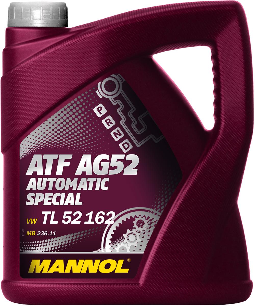 """Масло трансмиссионное MANNOL """"ATF AG52 Automatic Special"""", синтетическое, 4 л"""