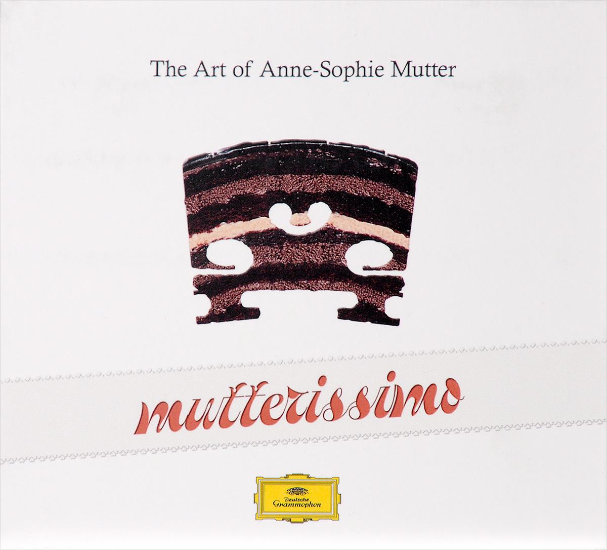 Анна-Софи Муттер Mutterissimo. The Art Of Anne-Sophie Mutter (2 CD) анна софи муттер ламберт оркис anne sophie mutter lambert orkis beethoven violin sonatas nos 5