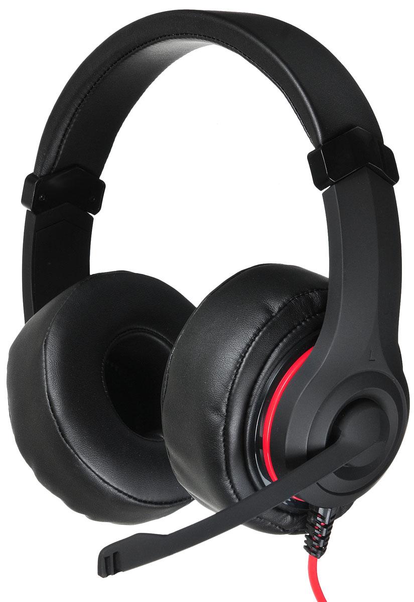 Oklick HS-L330G Nightmare, Black игровые наушники oklick hs l340g black игровые наушники