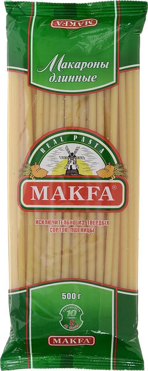 Makfa макароны длинные, 500 г