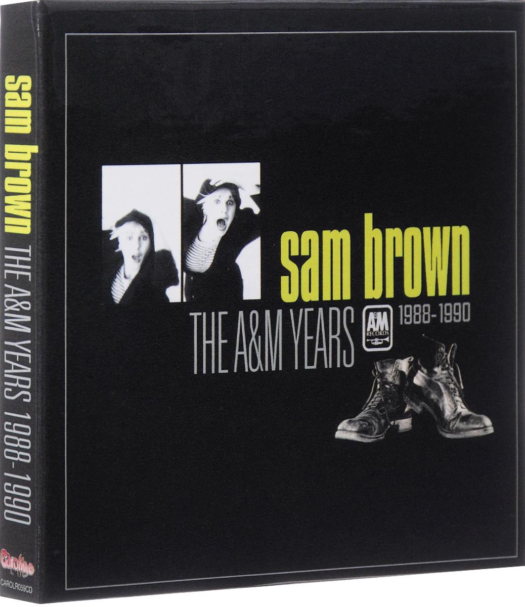 Сэм Браун Sam Brown. The A&M Years 1988-1990 (4 CD + DVD)
