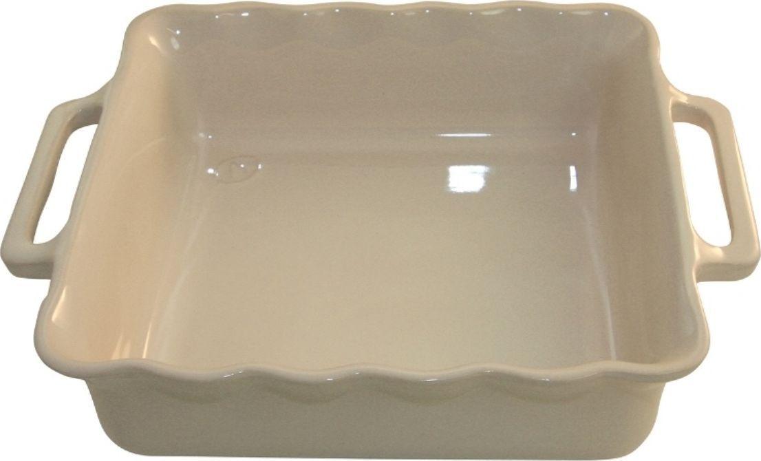 """Форма для выпечки Appolia """"Delices"""", квадратная, цвет: кремовый, 2,2 л"""