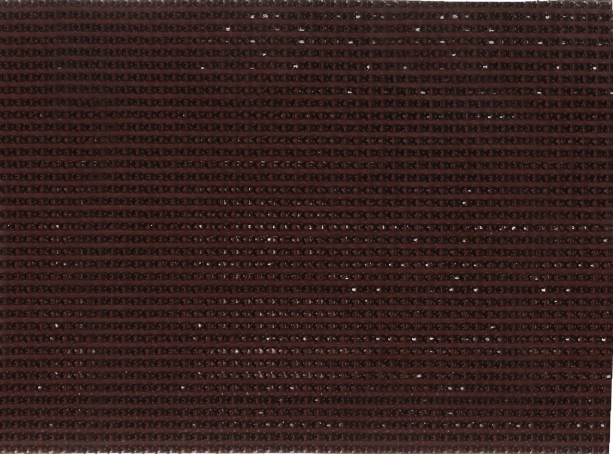 Коврик придверный InLoran, щетинистый, цвет: темный шоколад, 45 х 60 см40-4562/11137Коврик придверный InLoran выполнен из полиэтилена высокого давления и полипропилена. Изделие обладает щетиной в форме тюльпана, которая эффективно задерживает грязь. Такой коврик надежно защитит помещение от уличной пыли и грязи. Легко чистится и моется.