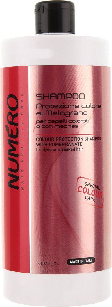 Brelil Numero Colour Шампунь для защиты цвета с эктрактом граната окрашенных и мелированных волос 1000 мл