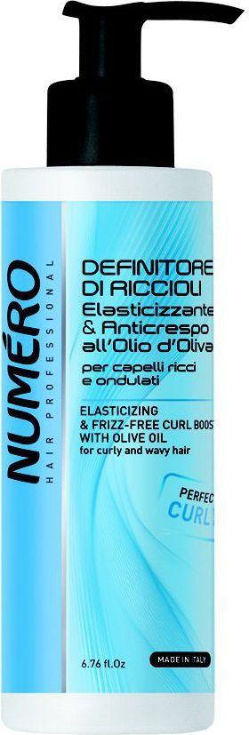 Brelil Numero Curl Гель для моделирования с оливковым маслом для вьющихся и волнистых волос 200 мл