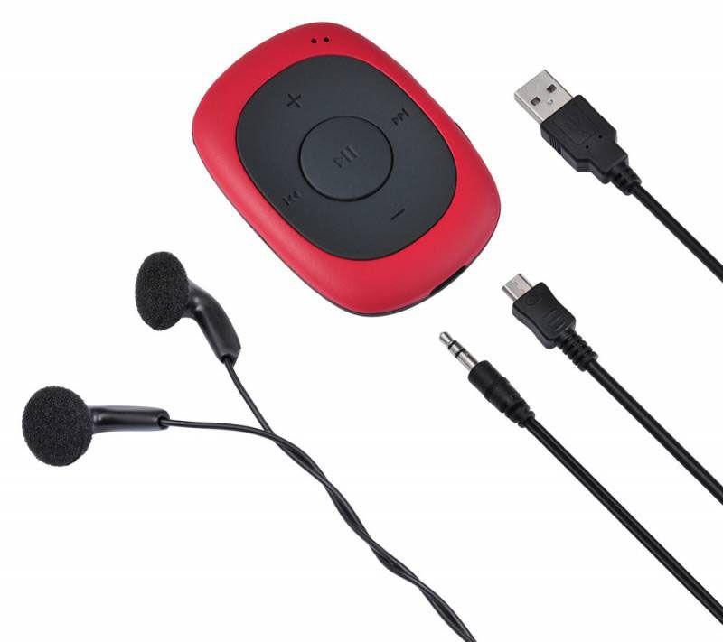 MP3плеер Digma C2L 4Gb, Red Digma