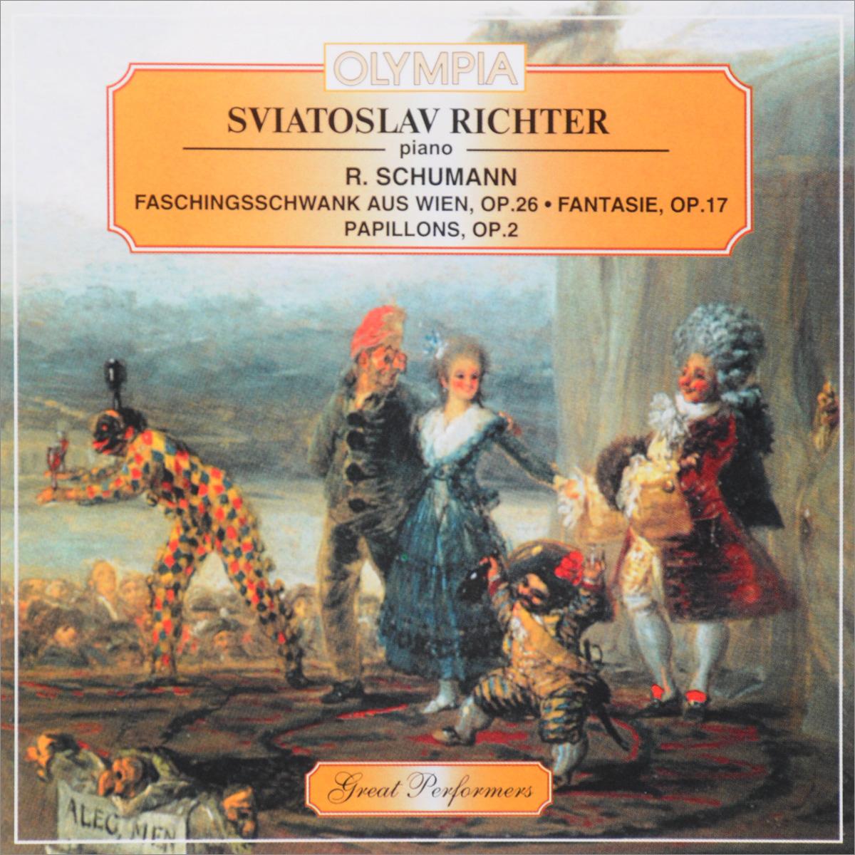 Святослав Рихтер Sviatoslav Richter. R. Schumann. Faschingsschwank Aus Wien, Op. 26 / Fantasie, Op. 17 / Papillons, Op. 2 недорого