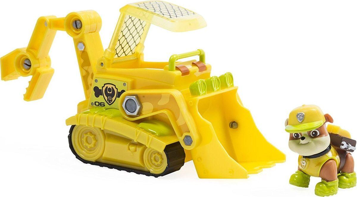 Paw Patrol Игровой набор Машина спасателя со щенком Крепыш игровой набор paw patrol машина спасателя со щенком