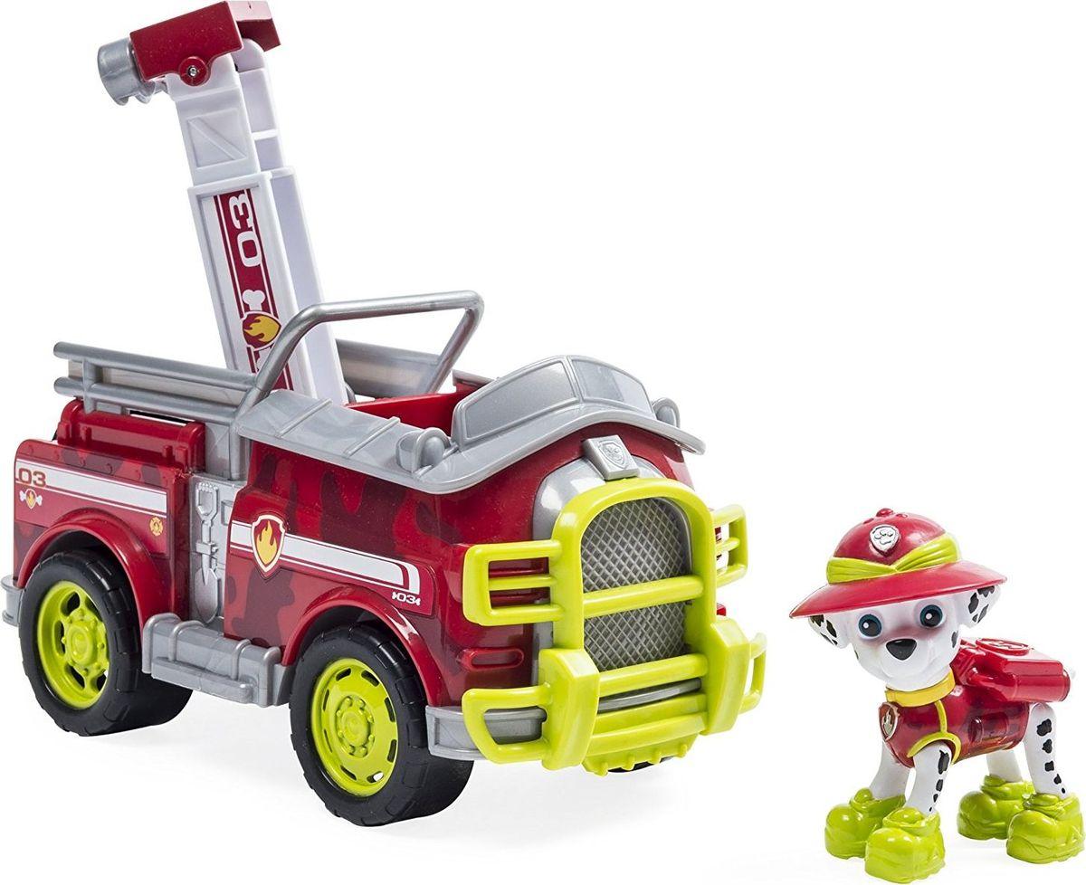 Paw Patrol Игровой набор Машина спасателя со щенком Маршалл игровой набор paw patrol машина спасателя со щенком