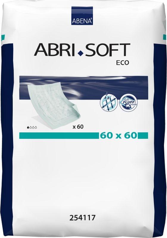 Abena Пеленки впитывающие Abri-Soft Eco 60 х 60 см 60 шт