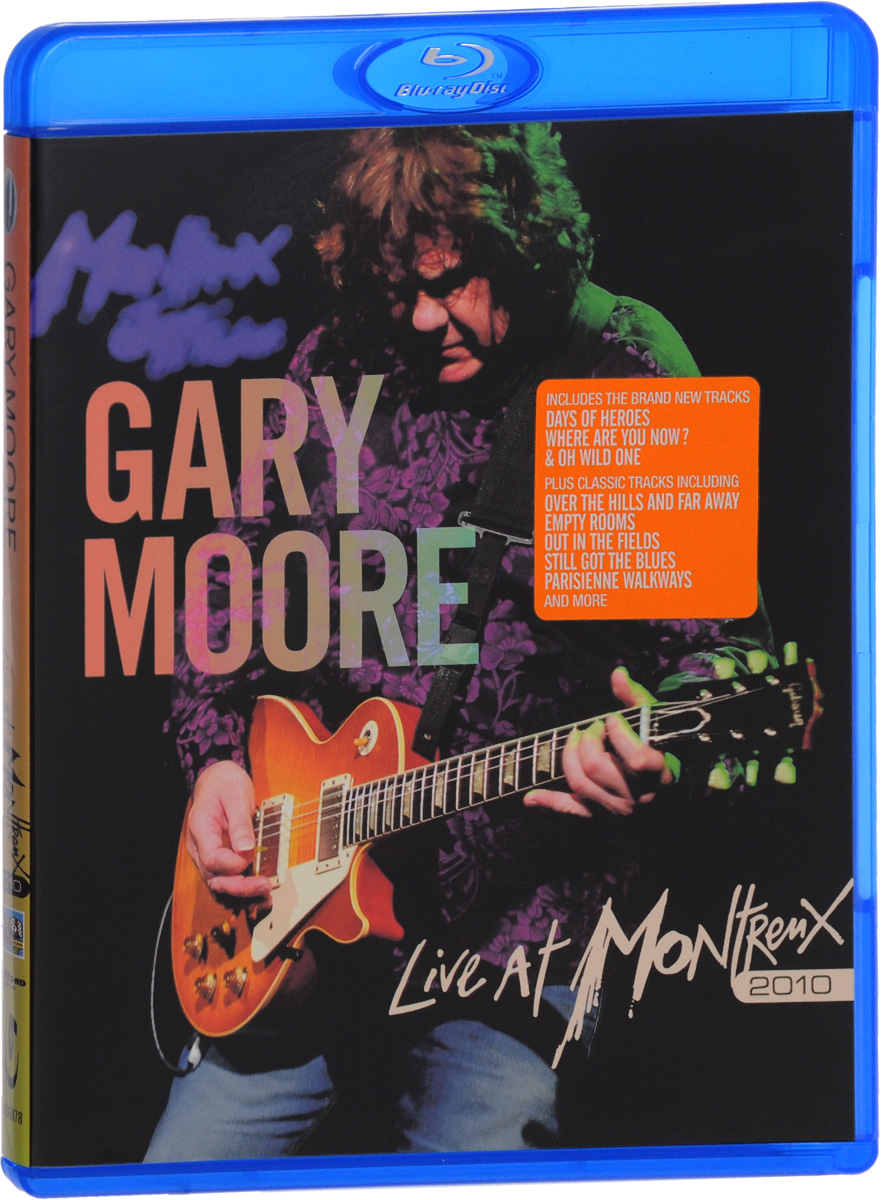 Gary Moore: Live At Montreux 2010 (Blu-ray) texts 1997 2010