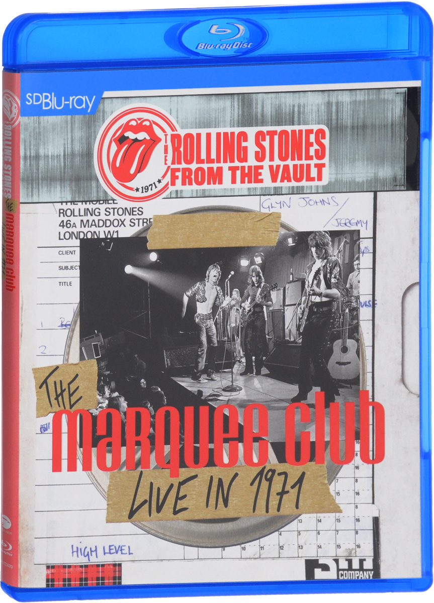 The Rolling Stones: From The Vault The Marquee Club Live In 1971 (Blu-ray)