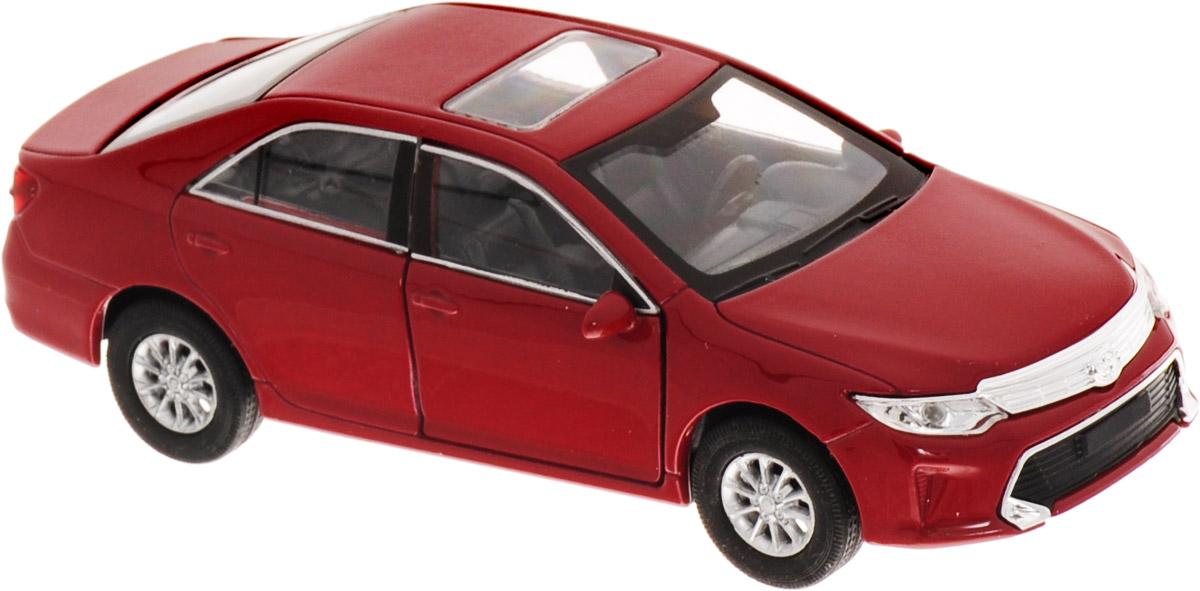 Welly Модель автомобиля Toyota Camry цвет бордовый motormax модель автомобиля corvette 1967 цвет черный