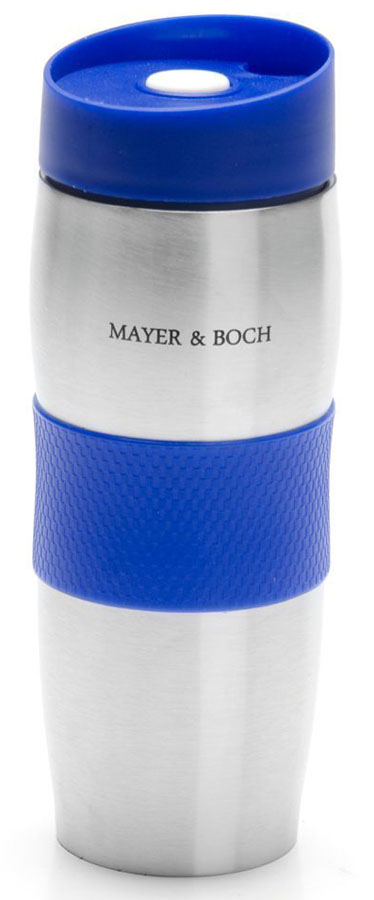Термокружка Mayer & Boch, цвет: синий, 380 мл. 26631-1