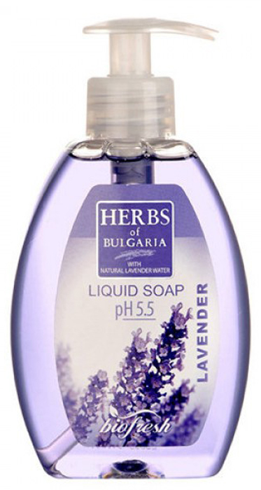 Herbs of Bulgaria Lavender Жидкое мыло, 300 мл мыло натуральное кастильское лаванда и шелк 100г