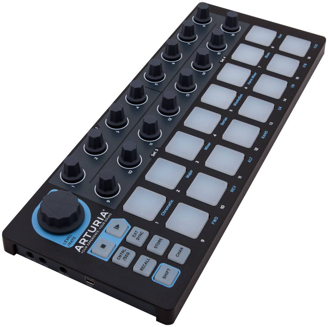 Arturia BeatStep Black Edition, Black MIDI-клавиатура