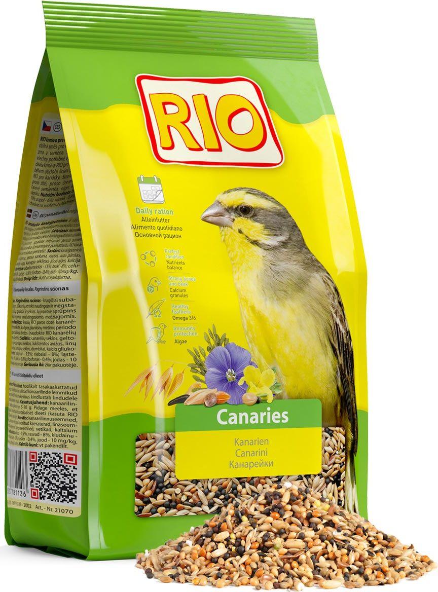 "Корм для канареек Rio ""Основной рацион"", 500 г"