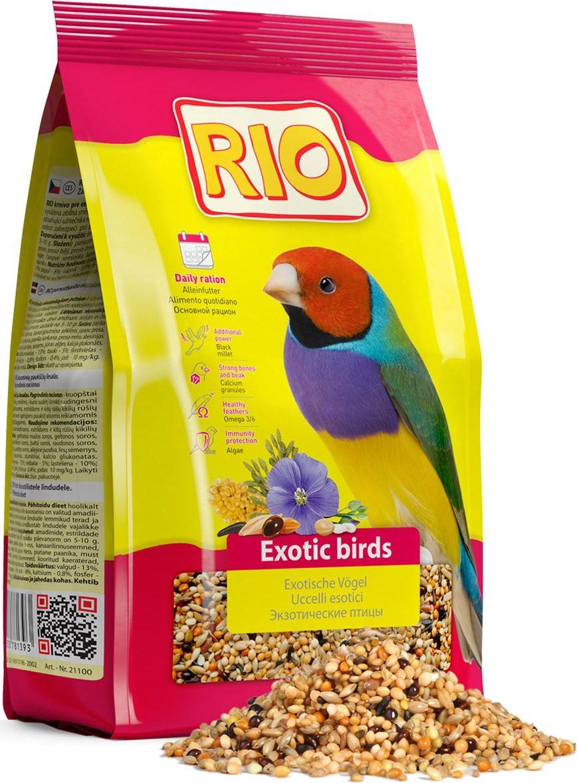 Корм для экзотических видов птиц Rio, 500 г13968Основной корм Rio - тщательно сбалансированная зерновая смесь для ежедневного кормления амадин, астрильдов и других видов ткачиков. В состав отобраны самые полезные и любимые зерна и семена, такие как мелкие сорта проса и редкие компоненты: паникум желтый, паникум красный, пайза, абиссинский нуг и другие. Они обеспечат вашу птицу всеми необходимыми питательными веществами. Товар сертифицирован.