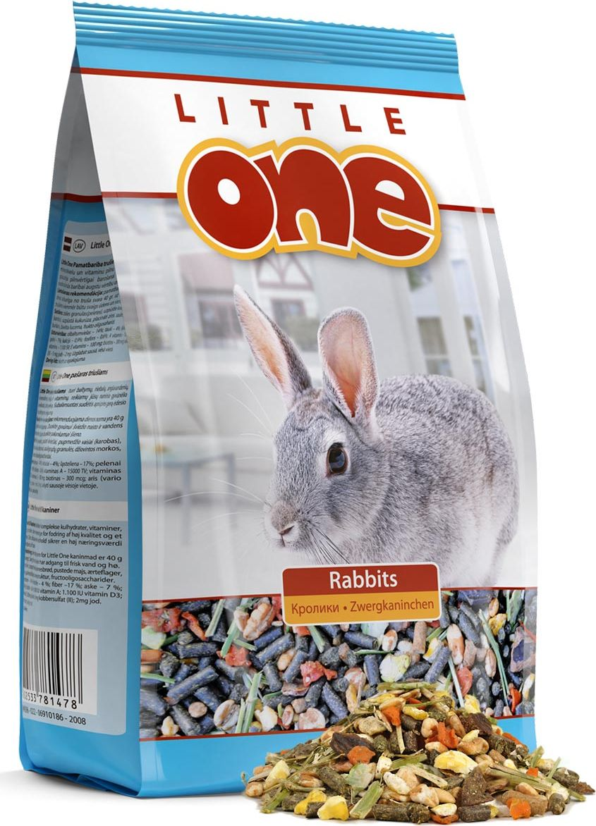 Корм для кроликов Little One, 400 г корм для кроликов little one 900 г