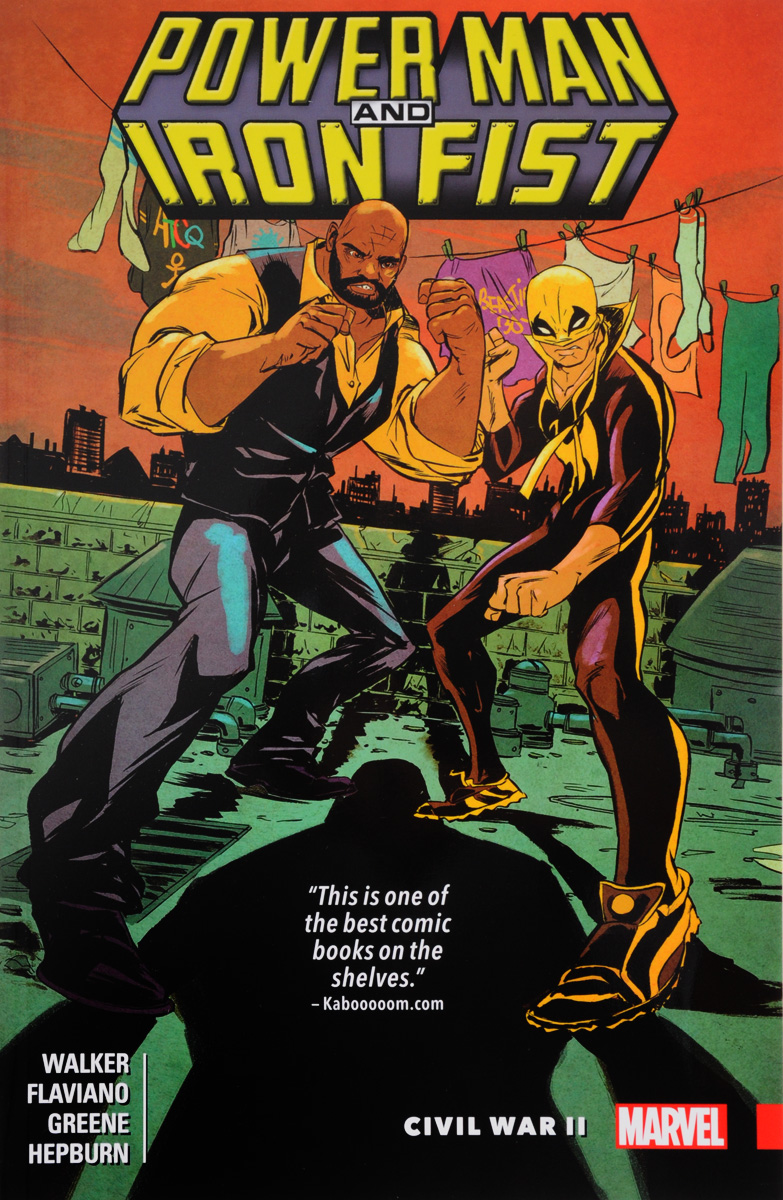 Power Man and Iron Fist: Volume 2: Civil War II