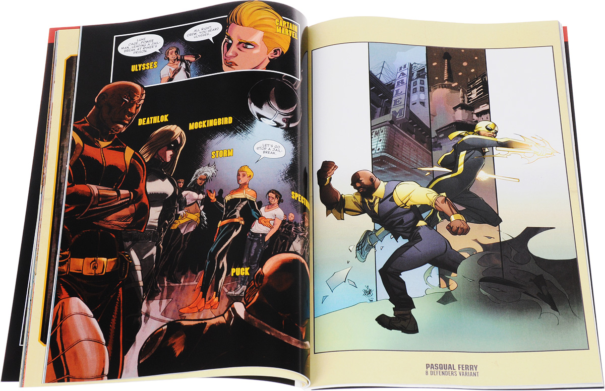 Power Man and Iron Fist: Volume 2: Civil War II Marvel