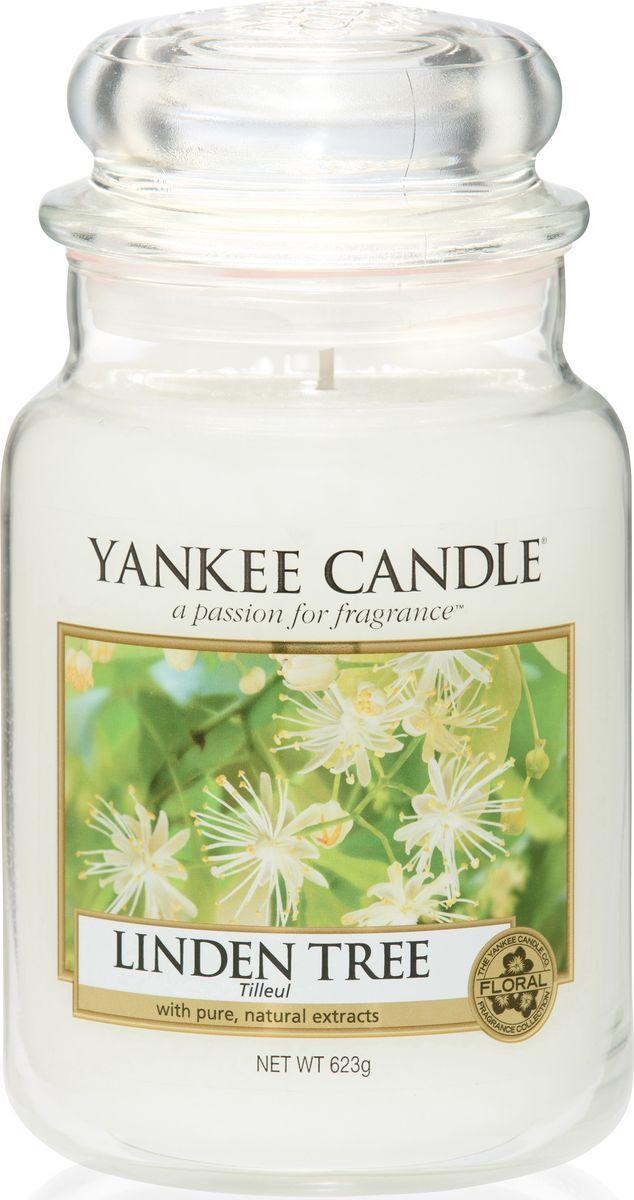 Ароматическая свеча Yankee Candle Липа / Linden Tree, 110-150 ч ароматическая свеча yankee candle дикая мята wild mint 110 150 ч