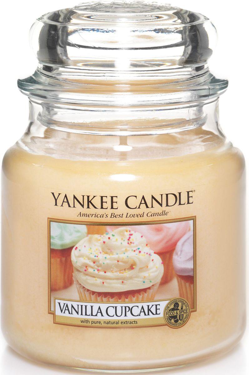 Ароматическая свеча Yankee Candle Ванильный кекс / Vanilla Cupcake, 65-90 ч тачка 120 g