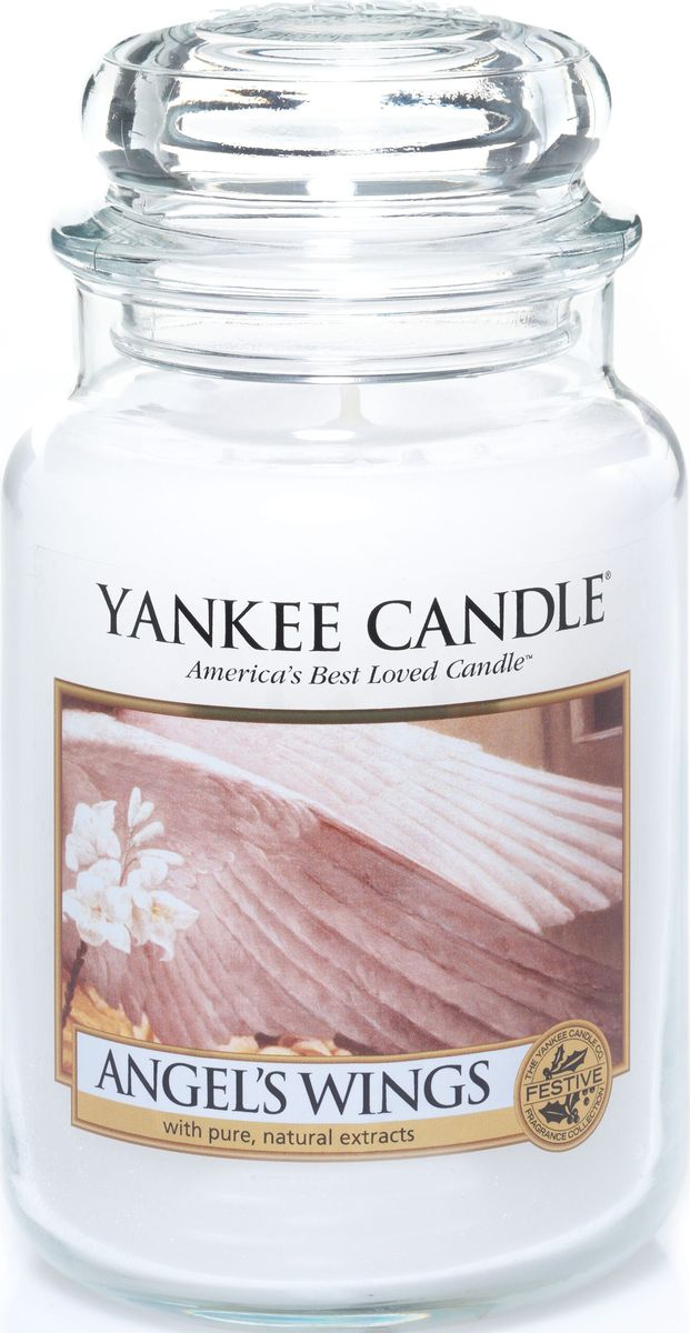 Ароматическая свеча Yankee Candle Крылья ангела / Angel Wings, 110-150 ч ароматическая свеча yankee candle дикая мята wild mint 110 150 ч