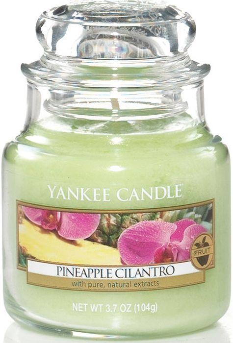 Ароматическая свеча Yankee Candle Ананас и кинза / Pineapple Cilantro, 25-45 ч свеча тропическое манго ароматическая