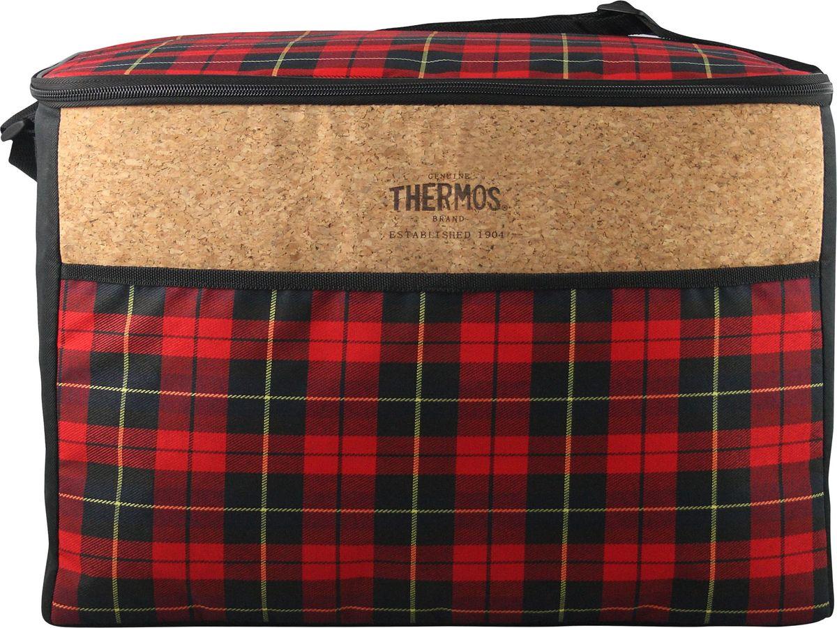 Сумка-термос Thermos Heritage 48 Can Cooler, цвет: красный, 33 л