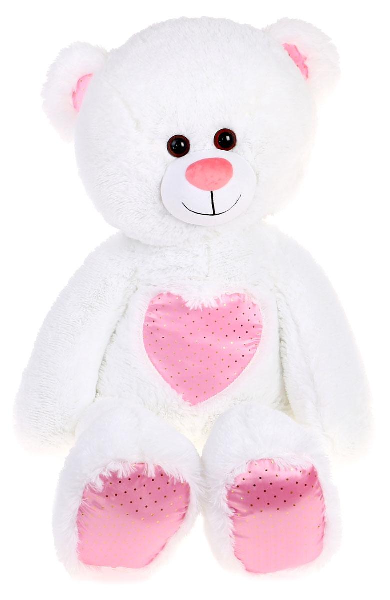 СмолТойс Мягкая игрушка Медвежонок Монти 100 см смолтойс мягкая игрушка медвежонок монти 100 см