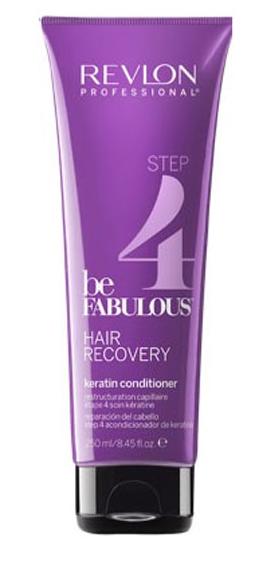 Revlon Professional Be Fabulous Hair Recovery Keratin Conditioner Step 4 Шаг 4. Кондиционер с кератином, 250 мл