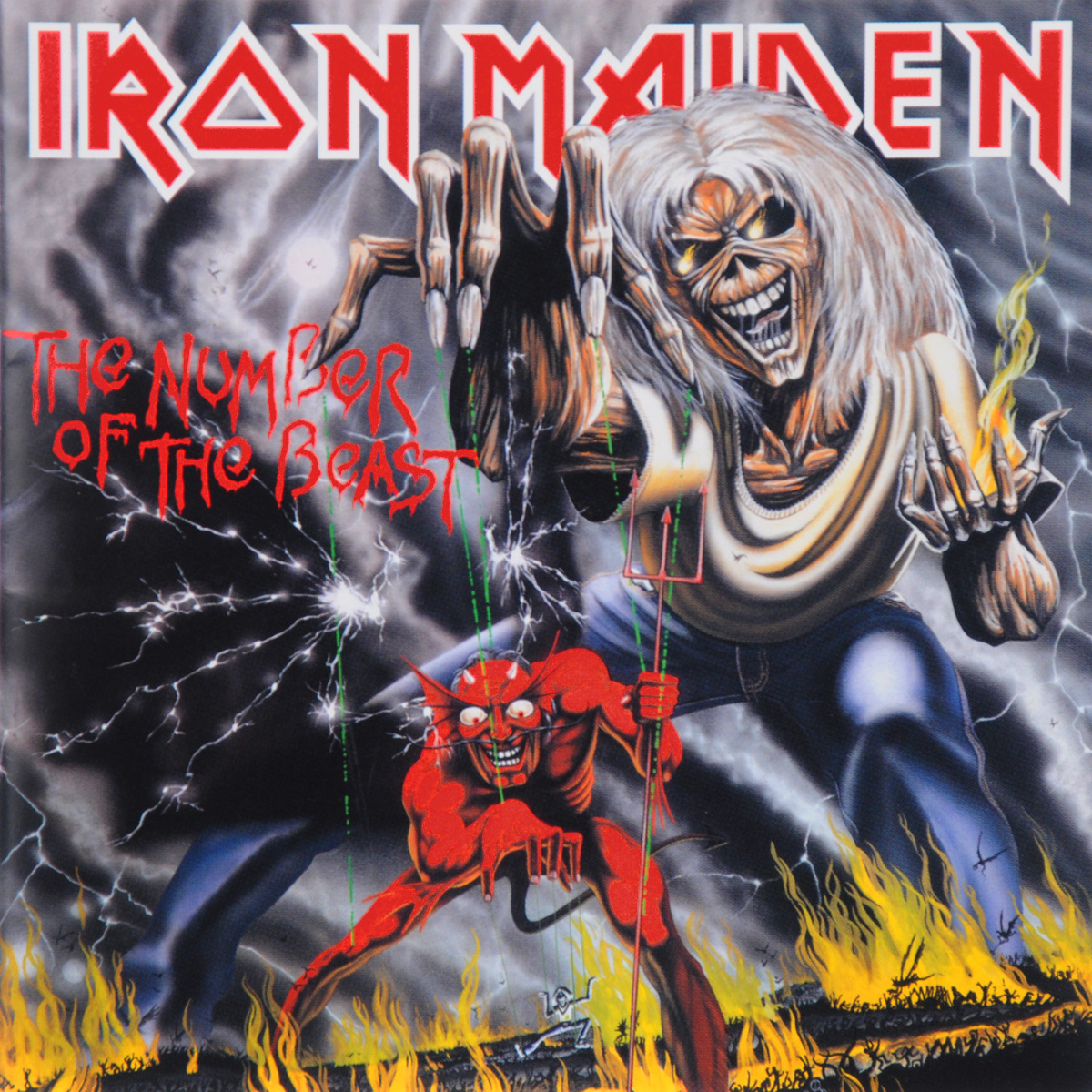 Iron Maiden Iron Maiden. Number Of The Beast (ECD) june francis the unconventional maiden