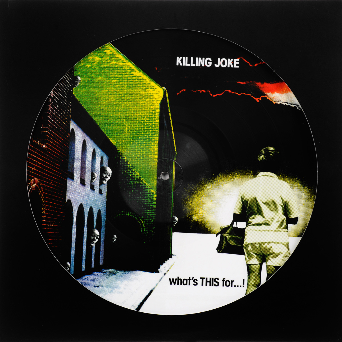 Killing Joke Killing Joke. What's This For...! (LP) killing joke killing joke brighter than a thousand suns picture