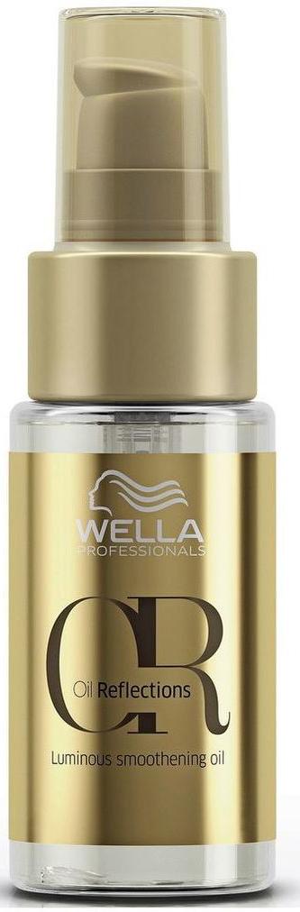 Wella Oil Reflections Luminous Smoothening Oil Разглаживающее масло для интенсивного блеска волос, 30 мл wella oil reflections luminous reval shampoo шампунь для интенсивного блеска волос 1000 мл
