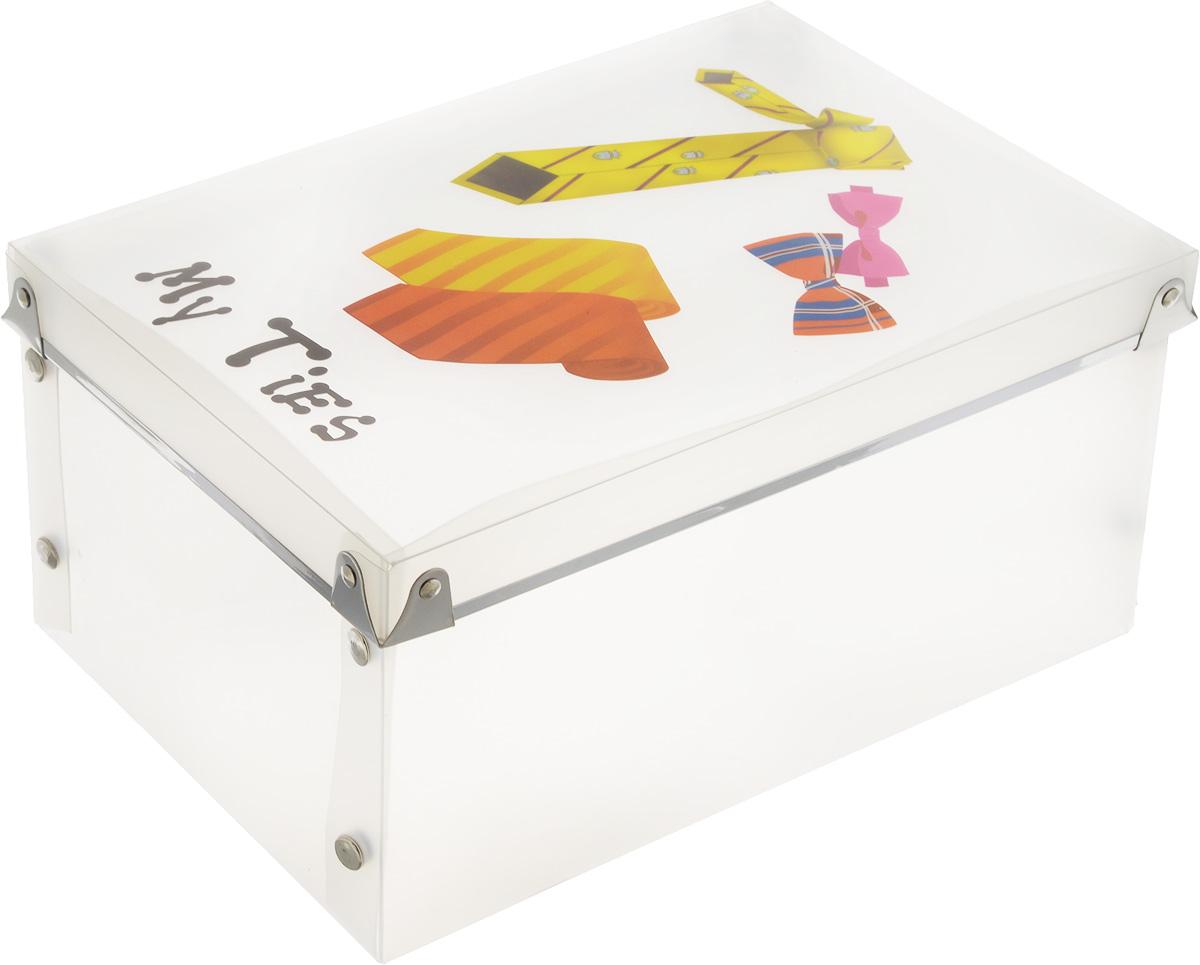 Короб для xранения Miolla Галстуки, 27 x 18,5 x 13 см кофр для хранения miolla 38 x 25 x 56 см